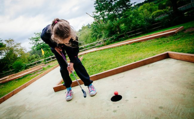 Clara Lara Mini Golf Images 11